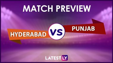 SRH vs PBKS Preview: Likely Playing XIs, Key Battles, Head to Head and Other Things You Need To Know About VIVO IPL 2021 Match 37