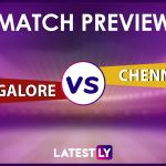 RCB vs CSK Preview: Likely Playing XIs, Key Battles, Head to Head and Other Things You Need To Know About VIVO IPL 2021 Match 35
