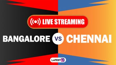 RCB vs CSK, IPL 2021 Live Cricket Streaming: Watch Free Telecast of Royal Challengers Bangalore vs Chennai Super Kings on Star Sports and Disney+Hotstar Online