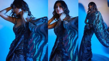 Mouni Roy Looks Glam in Sequined Saree, Oozes Chic Style in New Photoshoot Pictures