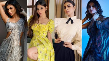 Mouni Roy Birthday Special: Naagin Actress Rules Hearts With Her Phenomenal Fashion Offerings! (View Pics)