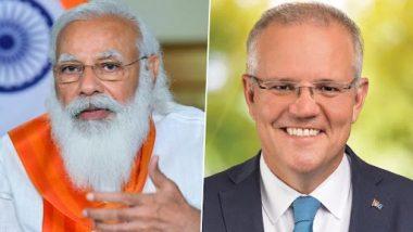 PM Narendra Modi, Scott Morrison Review Progress in India-Australia Comprehensive Strategic Partnership