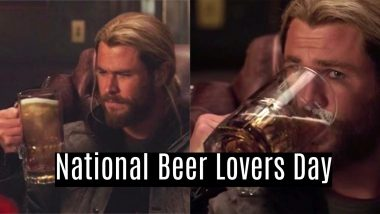 National Beer Lovers Day 2021 in the US: Netizens Greet Each Other, Exchange Funny Memes and Wishes Enjoying Their Favourite Beverage