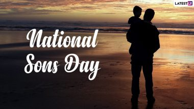 Happy National Sons Day 2021 Greetings: Netizens Share Images, Quotes, Messages and Wishes to Celebrate Son's Day in US