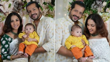 Neeti Mohan and Nihaar Pandya Share the First Clear Picture of Their Son Aryaveer!