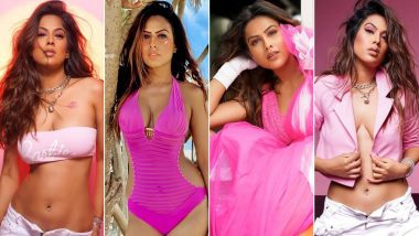 Nia Sharma Birthday Special: Television Queen's Obsession for Colour Pink Is Fashionable, Bold and Sexy (View Pics)