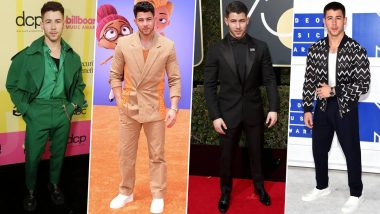 Nick Jonas Birthday Special: His Dressing Style Is a Blend of Everything That's Cool, Casual and Fabulous (View Pics)