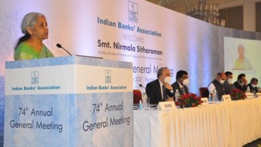 India Needs 4 -5 More Banks Like SBI To Meet Changing Requirements of Indian Economy, Says FM Nirmala Sitharaman