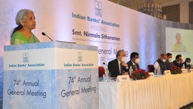 FM Nirmala Sitharaman Commends Banks for Smooth Amalgamation