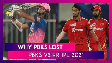 Punjab vs Rajasthan IPL 2021: 3 Reasons Why Punjab Lost