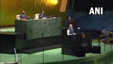 PM Narendra Modi Addresses the 76th Session of United Nations General Assembly in New York