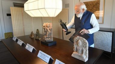 PM Narendra Modi to Bring Back 157 Artefacts, Antiquities Handed Over by US