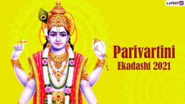 Parivartini Ekadashi Vrat 2021: Know Date, Parana Time, Significance, Katha and Puja Vidhi Related to Parsva Ekadashi