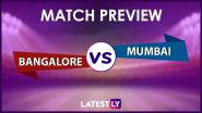 RCB vs MI Preview: Likely Playing XIs, Key Battles, Head to Head and Other Things You Need To Know About VIVO IPL 2021 Match 39