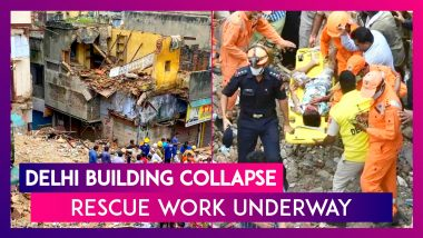 Delhi Sabzi Mandi Building Collapse: Chief Minister Arvind Kejriwal Says Monitoring Rescue Work