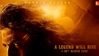 Shamshera: On Ranbir Kapoor's Birthday, YRF Teases His 'Legend' Look From His Upcoming Movie; Release Confirmed on March 18, 2022! (View Pic)