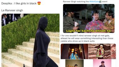 Ranveer Singh Funny Memes Go Viral on Met Gala 2021, Netizens Feel Indian Actor Has What It Takes To Shine On 'Fashion's Biggest Night'
