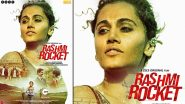 Rashmi Rocket: Taapsee Pannu Confirms Release Date of Her Sports Drama With a New Poster; Film to Premiere on ZEE5 on October 15!