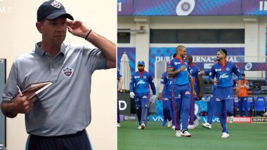 IPL 2021: Ricky Ponting Lauds DC Players, Gives Impressive Dressing Room Speech After Thrilling Victory Against Sunrisers Hyderabad