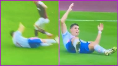 Cristiano Ronaldo Accused of Diving During West Ham vs Manchester United EPL 2021-22 Match (See Video and Reactions)