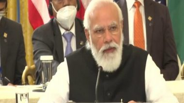 PM Narendra Modi at Quad Summit 2021: India to Make Available 8 Million Doses of Johnson and Johnson COVID-19 Vaccine by the End of October