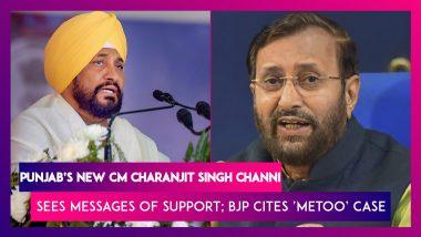Charanjit Singh Channi To Be New Punjab CM, Rahul Gandhi Sends Wishes, BJP Rakes Up 'MeToo' Case