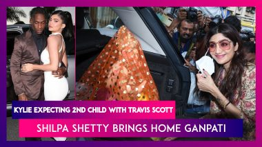 Kylie Jenner & Travis Scott Are All Set To Be Parents Again; Shilpa Shetty Brings Home Ganpati