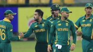 South Africa vs West Indies Live Streaming Online, T20 World Cup 2021: Get Free TV Telecast of SA vs WI, Group 1 Super 12 Match of ICC Men's Twenty20 WC With Time in IST