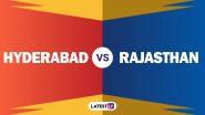 SRH vs RR Live Score Updates of VIVO IPL 2021: David Warner Dropped As Sanju Samson Opts To Bat First