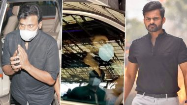 Sai Dharam Tej Accident: Chiranjeevi, Ram Charan and Other Celebs Visit the Hospital To Check on the Tollywood Actor's Health (View Pics and Videos)