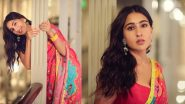 Sara Ali Khan Adds a Dash of Colours To Beat Monday Blues in a Gorgeous Saree and Bindi! View Pics