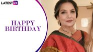 Shabana Azmi Birthday: Did You Know The Legendary Actress Has Won Most Number Of National Film Awards In The Best Actress Category?