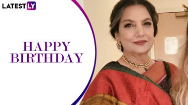 On Shabana Azmi's birthday, let's talk about her most number of National Award wins