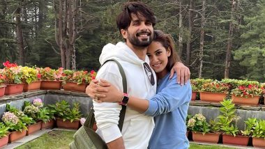 Shahid Kapoor Wishes Wife Mira Rajput on Her Birthday by Sharing Their Unseen Cuddly Pictures!