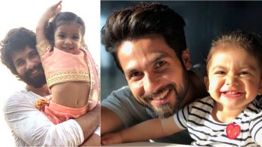 Just 10 Adorable Photos of Shahid Kapoor and Misha Giving Us Major Father-Daughter Goals