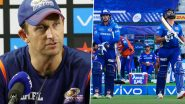 IPL 2021: MI Coach Shane Bond Believes Conceding Runs in Death Overs Is Not the Problem