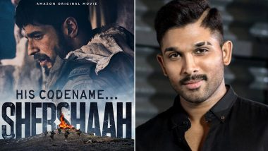 Shershaah: Allu Arjun Hails Sidharth Malhotra's Film; Praises the Actor's Performance by Calling it His Career-Best!