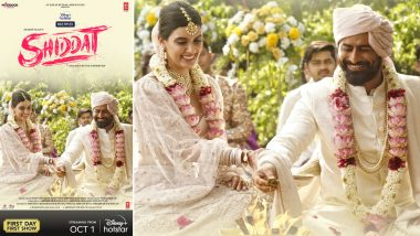 Shiddat: Mohit Raina and Diana Penty Look Made for Each Other in the New Poster From the Disney+ Hotstar Film!