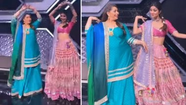Shilpa Shetty Kundra Dances to Viral Song Manike Mage Hithe With Geeta Kapur (Watch Video)