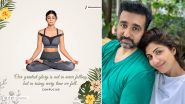 Shilpa Shetty Pens an Inspiring Note on Rising Everytime After Falling Post Husband Raj Kundra's Bail in the Pornography Case