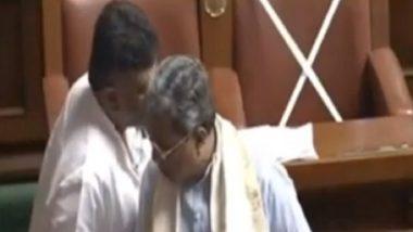 Karnataka Assembly Erupts in Laughter as Siddaramaiah's Dhoti Nearly Falls, Watch Video