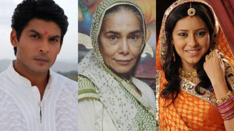 Sidharth Shukla, Surekha Sikri, Pratyusha Banerjee - How Balika Vadhu  Tragically Lost Three of Its Main Stars In the Past Five Years |  LatestLY