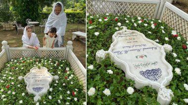 Mansur Ali Khan Pataudi Death Anniversary: Sharmila Tagore, Soha Ali Khan Offer Prayers