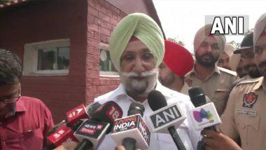 India News   AICC Proposes Sukhjinder Randhawa's Name for Punjab CM Post: Sources