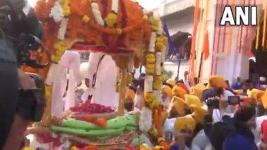 Sri Guru Granth Sahib Ji Prakash Purb Celebrations Underway at Golden Temple in Amritsar (Watch Video)