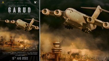 Garud: Ajay Kapoor, Subhash Kale Announce Their Upcoming Film Based on Afghan Rescue Crisis; Film To Release on August 15, 2022!