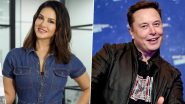 Sunny Leone Tweets to Elon Musk, Asks Him if NFT Is the Future of Cryptocurrency
