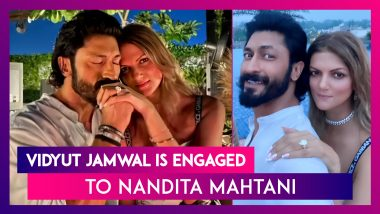 Vidyut Jamwal Is Engaged To Nandita Mahtani, He Pops The Question The 'Commando' Way