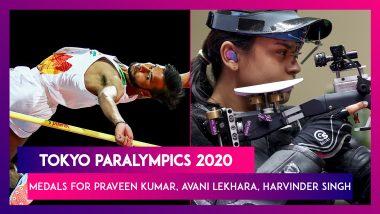 Praveen Kumar Wins Silver, Avani Lekhara and Harvinder Singh Bags Bronze for India at Tokyo Paralympics 2020