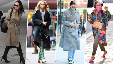 Fall Fashion 2021: Angelina Jolie, Kendall Jenner and Other Hollywood Beauties Proving Why Sweater Weather is a Good Weather (View Pics)